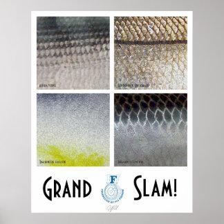 Poster del agua salada del Grand Slam