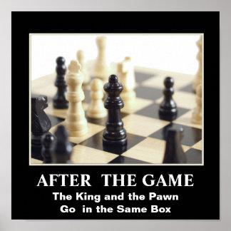 Poster del ajedrez