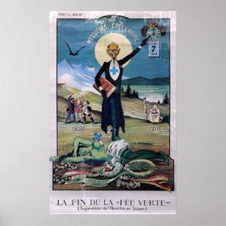 Poster del ajenjo de Affiche