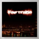 Poster del Album Art del EP del comercio justo