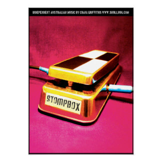 Poster del álbum de Stompbox Póster
