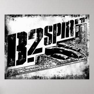 Poster del alcohol B-2