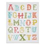 Poster del alfabeto