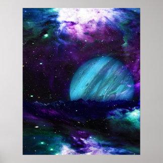 Poster del amanecer de Júpiter