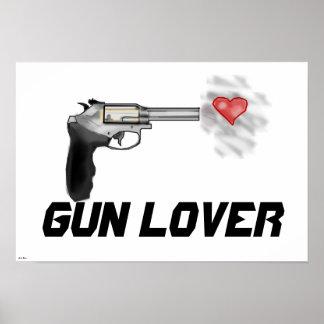 Poster del amante del arma