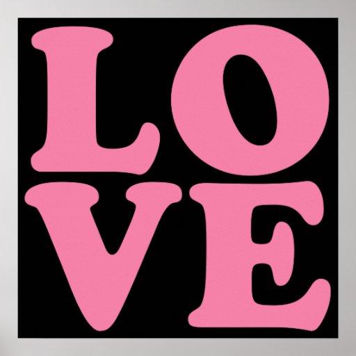 Poster del amor