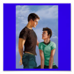 Poster del amor adolescente