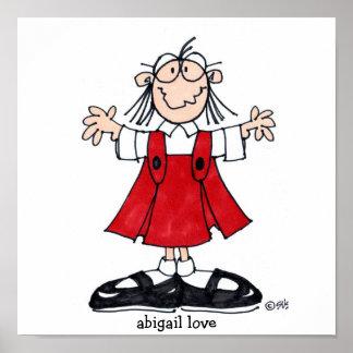 poster del amor de Abigail