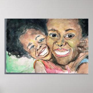 Poster del amor de madres