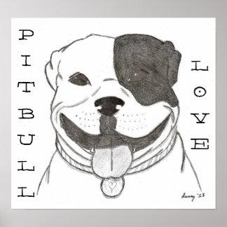 Poster del amor de Pitbull