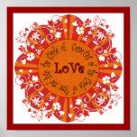 Poster del amor de Rumi