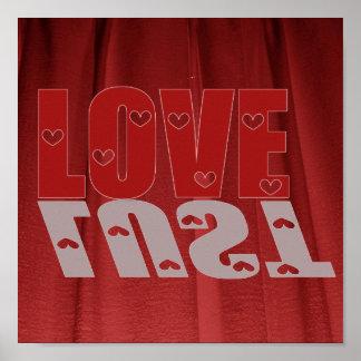 Poster del amor o de la lujuria