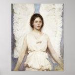 Poster del ángel de Abbott Handerson Thayer