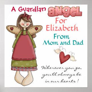 Poster del ángel de guarda por SRF