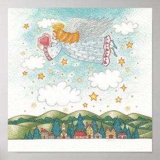 Poster del ángel de la paz