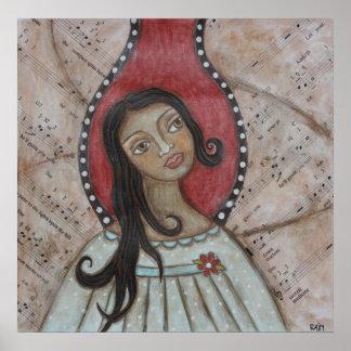 Poster del ángel de Orifiel