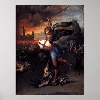 Poster del ángel de San Miguel