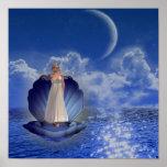 Poster del ángel del agua