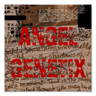 Poster del ÁNGEL GENETIX