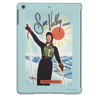 Poster del anuncio de Gretchen Fraser Carcasa Para iPad Air