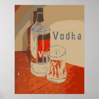 Poster del anuncio de la vodka
