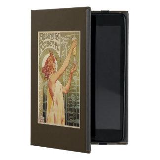 Poster del anuncio del ajenjo de Robette iPad Mini Protectores