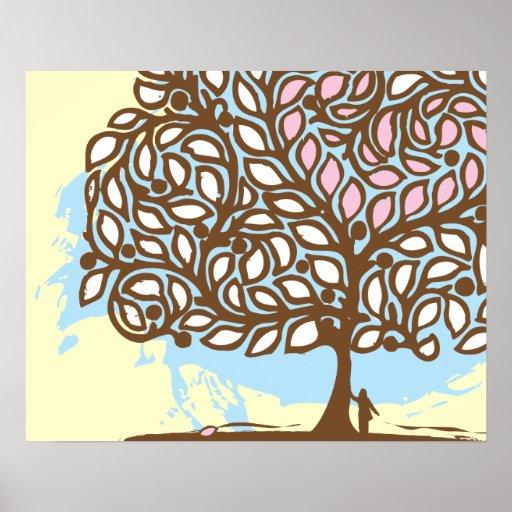 Poster del árbol de amor