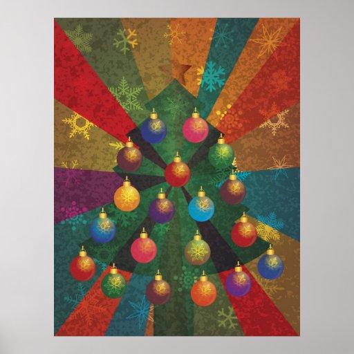Poster del árbol de navidad