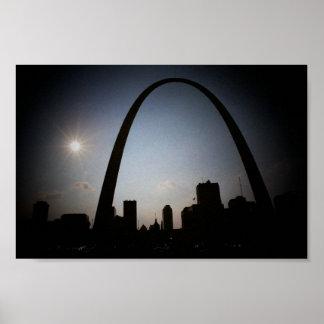 Poster del arco de St. Louis