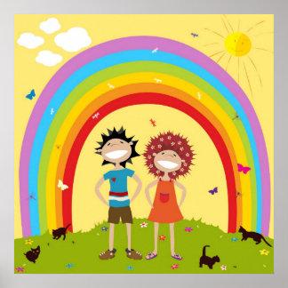 Poster del arco iris