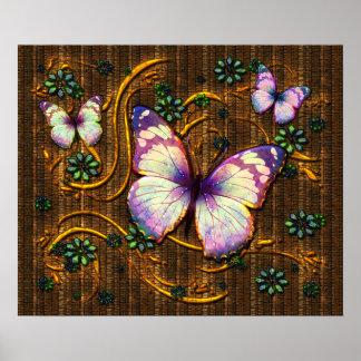 Poster del arte 6 de la mariposa