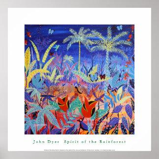 Poster del arte: Alcohol de la selva tropical del
