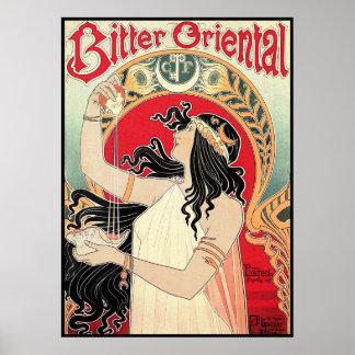 Poster del arte: Arte Nouveau - Oriental amargo