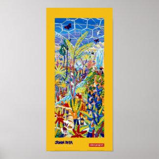 Poster del arte: Artista en la residencia para el