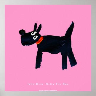 Poster del arte: Bella el perro de Scotty