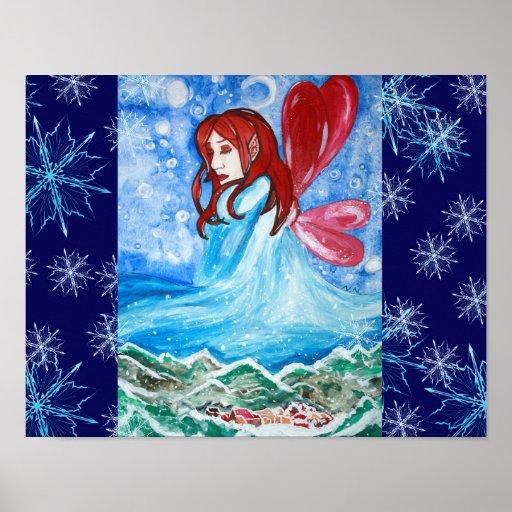 Poster del arte de Bringer del invierno
