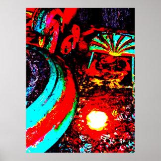 """""""Poster del arte de JTG de la fuente dos de"""