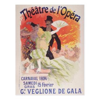 Poster del arte de Julio Cheret Postal