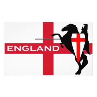 Poster del arte de la bandera de Inglaterra del Fotografía