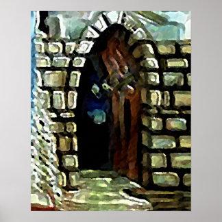 Poster del arte de la fantasía del vestíbulo de la