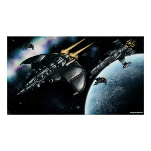 Poster del arte de la patrulla del espacio
