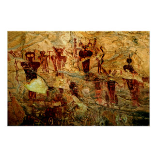 Poster del arte de la roca de Utah