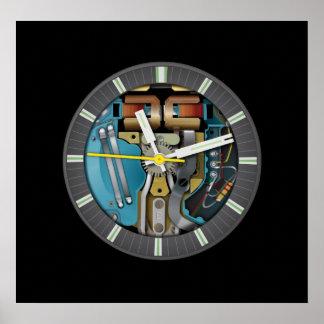 Poster del arte de la tecnología de la bifurcación