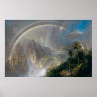 """Poster del arte de las """"zonas tropicales"""" de la ig"""
