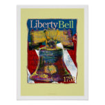 Poster del arte de Liberty Bell