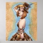Poster del arte de Telsa - de Steampunk
