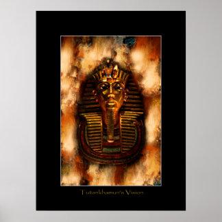 Poster del arte de VISION de TUTANKHAMUN