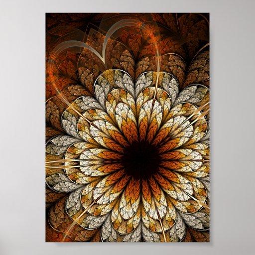 Poster del arte del fractal: Pasión