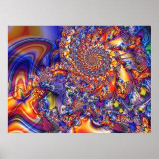 Poster del arte del fractal Phn102513