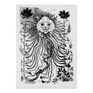 Poster del arte del gato de Nouveau del arte de Lo